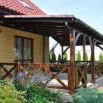 Строительство деревяных домов. Навесы и тенты