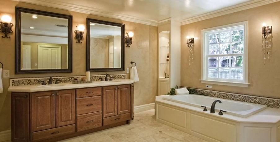 эклектика в ванной