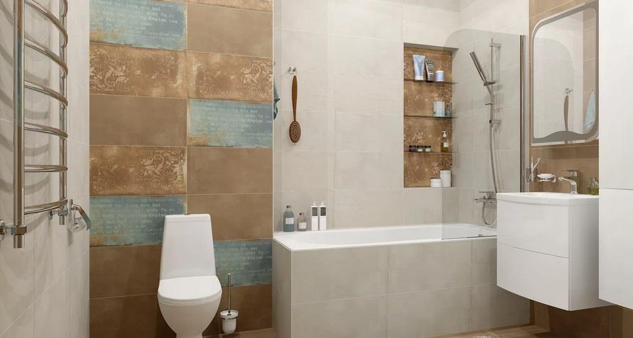 крупная плитка для ванной