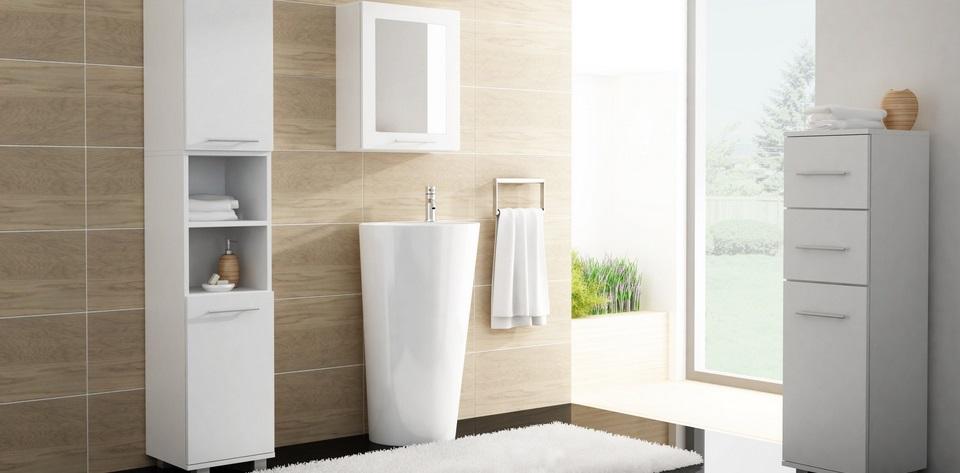 скрытые места для хранения в ванной