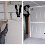 Гипсокартон или штукатурка: что лучше и дешевле для стен?