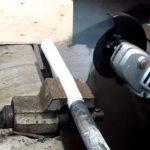 Как ровно отрезать трубу болгаркой: методы работы с угловой шлифовальной машиной
