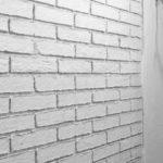 Покраска стены под кирпич: способы отделки