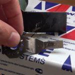 Как ровно отрезать пластиковый подоконник