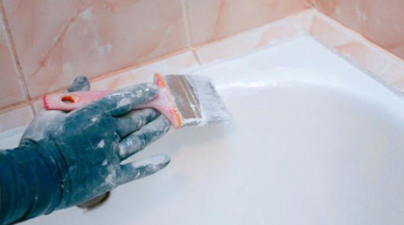 Как покрасить ванну чугунную в домашних условиях