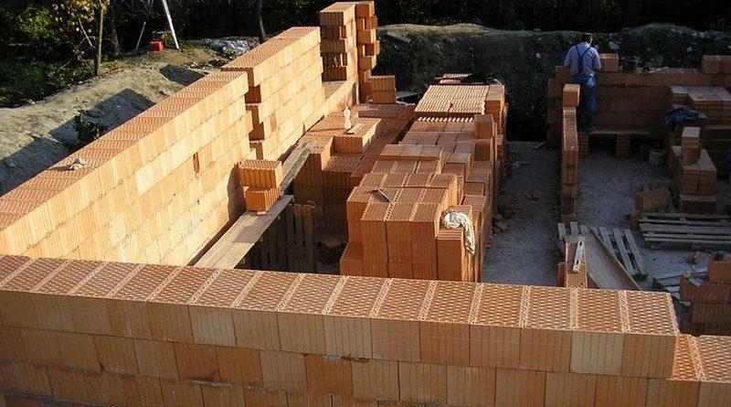 Толщина кирпичной кладки наружной стены