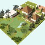 Нормы отступа от границ участка при строительстве дома, гаража, бани в 2021 году