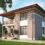 Проекты двухэтажных домов 10х10