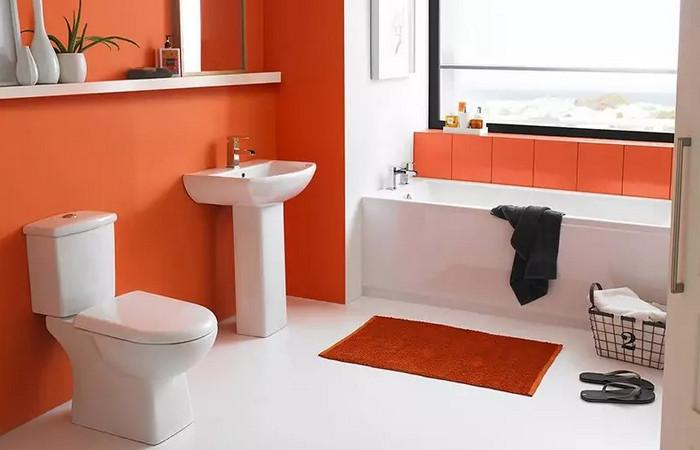 отделка стен в ванной без плитки
