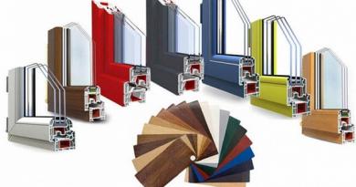 Особенности выбора цвета пластиковых окон